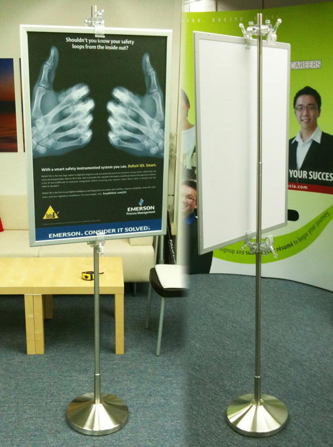 Display Stands & Pull Up Banner Stands (Tokyo, Japan)