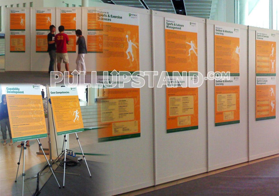 Normal Exhibition Booth Size : Poster printing and frames many models and sizes of posters and