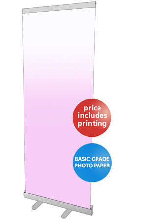 Budget Series Pull Up Banner Stand