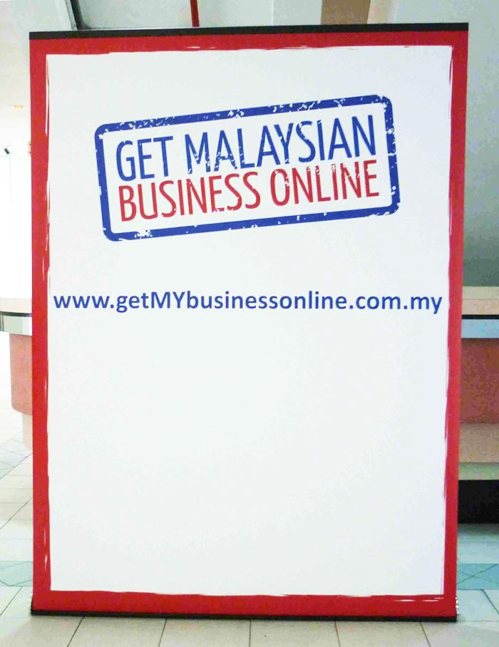 Pull Up Stand Deluxe150 150x200cm for MYB