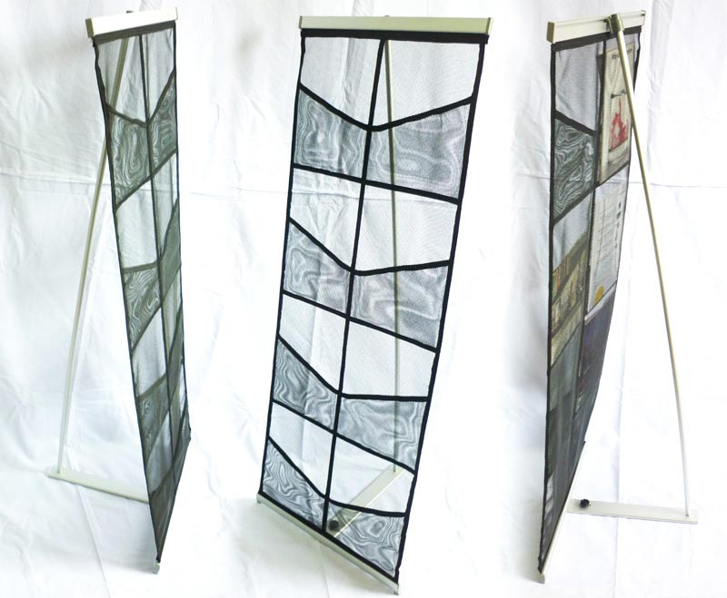 Netting Brochure Stand