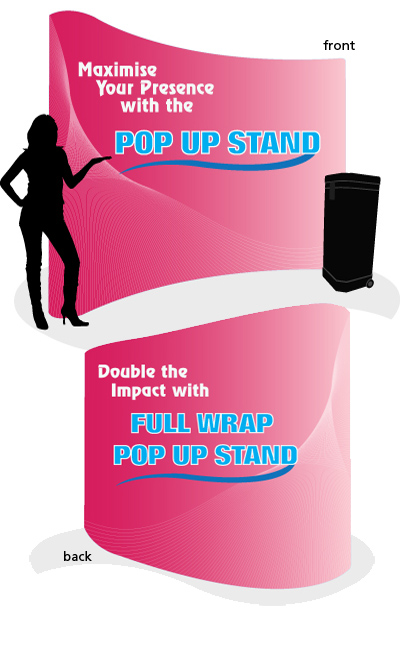 Pop Up Stand Full Wrap