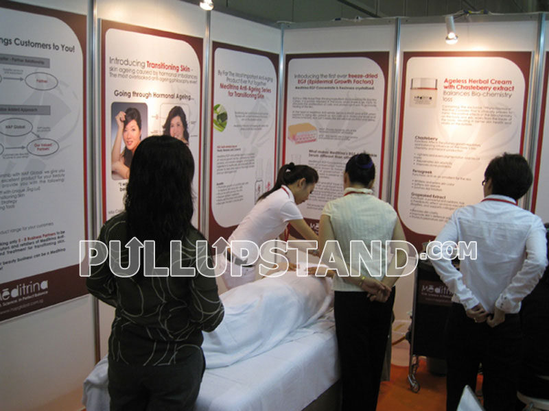 Wedding Exhibition Stand Design : Poster printing and frames many models sizes of