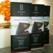 Pull Up Stand Premium85 85x200cm for Red Sea Gallery banner stands