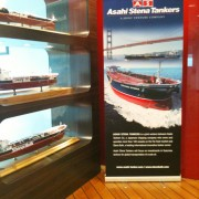 Pull Up Stand Premium85 85x200cm for Stena Bulk banner stands