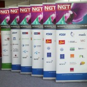 Pull Up Stand Premium85 85x200cm for NGT exhibition banner stands
