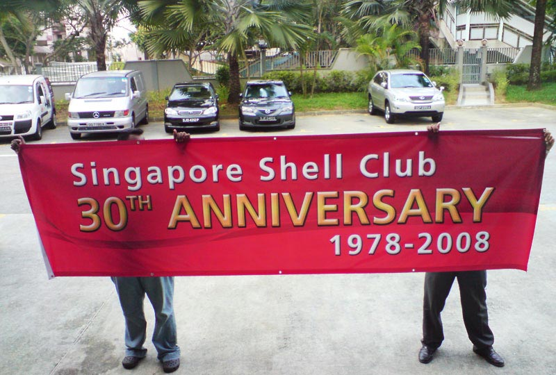 PVC Banner for anniversary