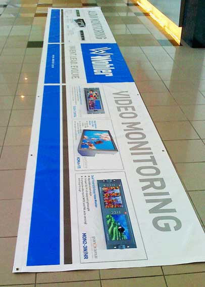 Long PVC Banner for exhibition