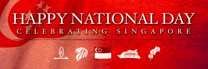 National Day Singapore Banner Design #08