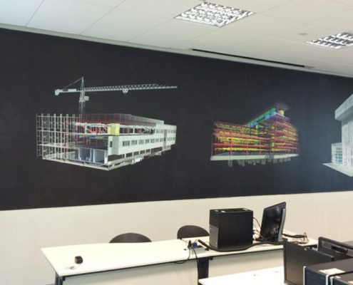 Wall Sticker Decoration for Working Space