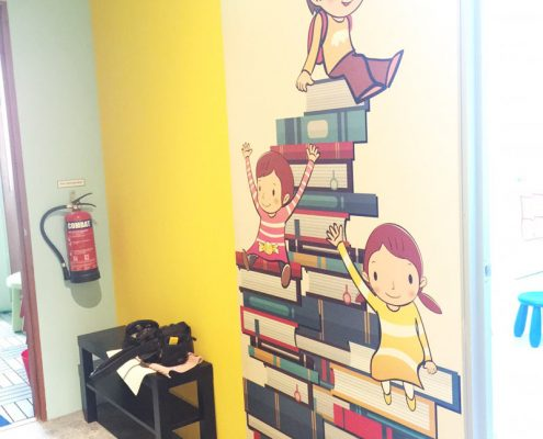 Wall Sticker for Bright Beginnings Enrichment Centre in Singapore