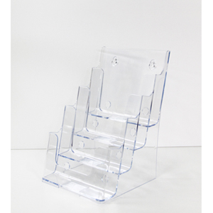 Acrylic Brochure Holder - A5 4 tier