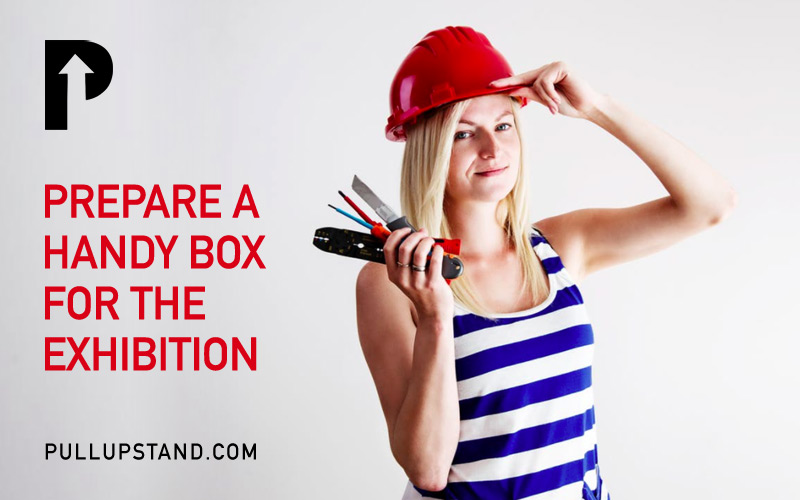 Prepare Handy Box for Exhibition
