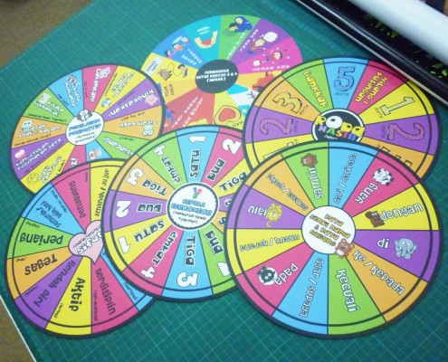 Magnets of Wheel of Fortune for Palm View