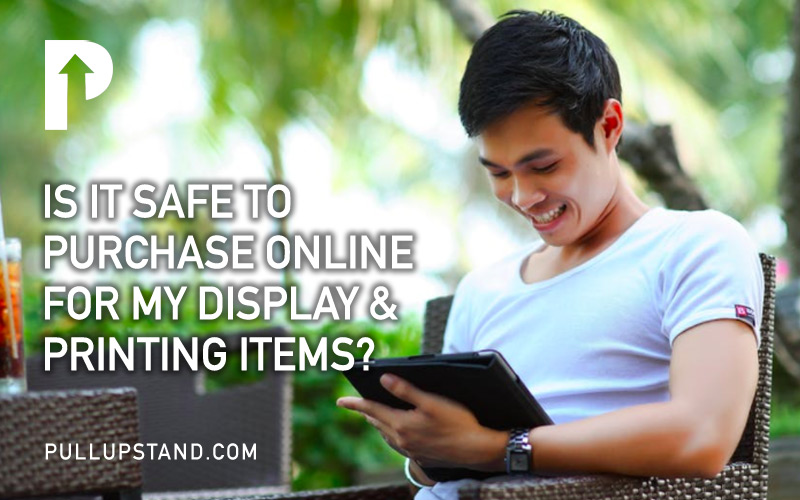 Is it safe to purchase online for display and printing items?