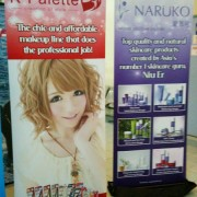 Pull Up Stand Flatbase85 banner stands 85x200cm for Japalang