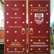 Pull Up Stand Flatbase85 85x200cm for University of Chicago banner stands
