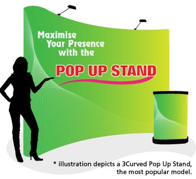 Pop Up Stand Premium