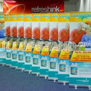 Pull Up Stand Small for Liquamax banner stands
