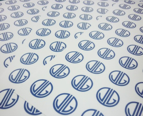 Sticker Printing with Die Cut Shape - Jamie Gidania