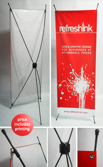 Display Stands & Pull Up Banner Stands (Philippines)