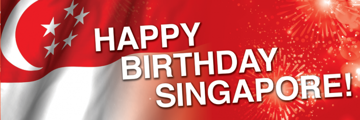 National Day Singapore Banner Design #06