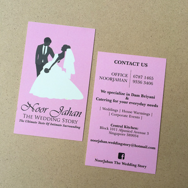 Noor Jahan - Namecard Design and Printing by Pullupstand.com The Banner Stand People