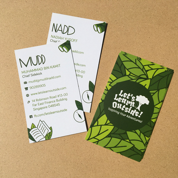 Mudd Nadd - Namecard Design and Printing by Pullupstand.com The Banner Stand People