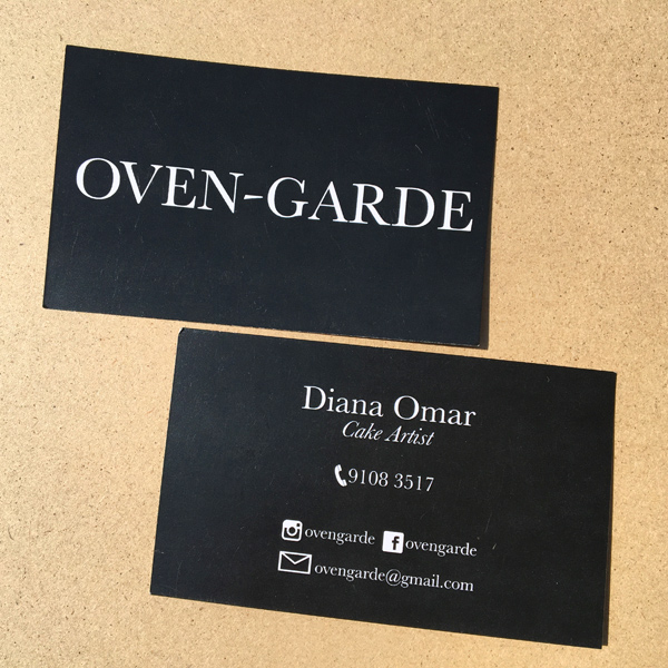 Oven-Garde - Namecard Design and Printing by Pullupstand.com The Banner Stand People