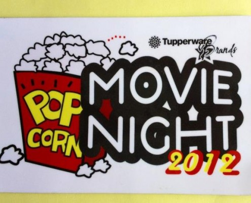 Magnets for Tupperware Movie Night