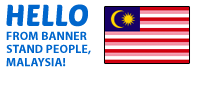 Malaysia Pullupstand.com - The Bannerstand People