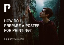 how to prepare poster for printing