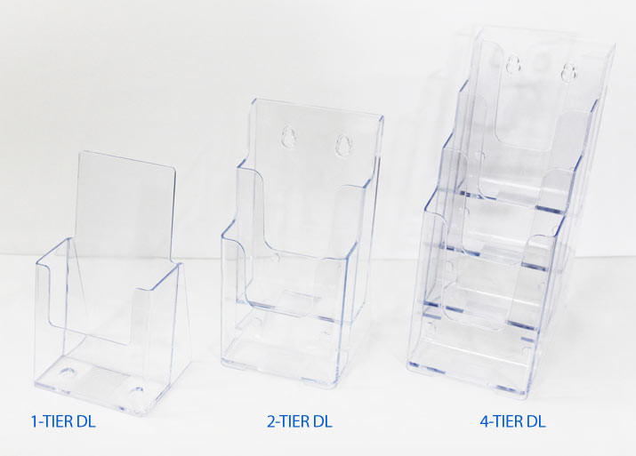 DL brochure holder acrylic