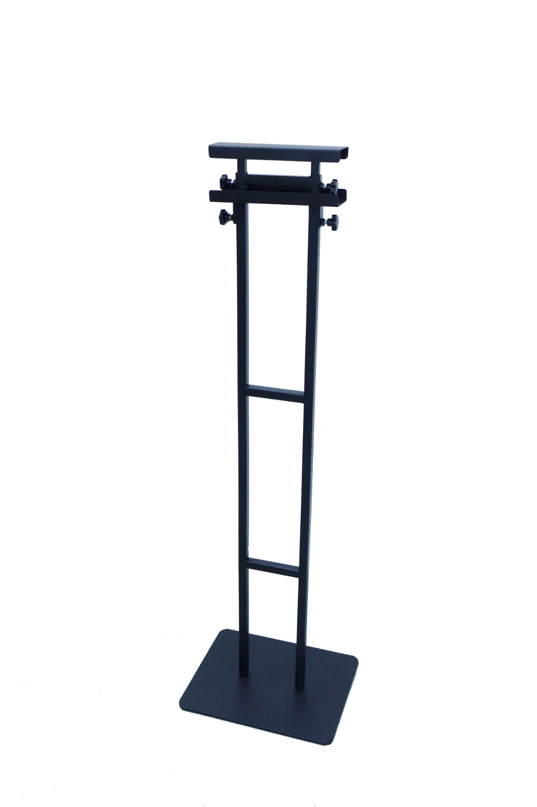 Frame Stand Black, Front View