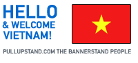 Ho Chi Minh Vietnam Pullupstand.com - The Bannerstand People