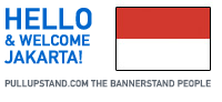 Jakarta Indonesia Pullupstand.com - The Bannerstand People