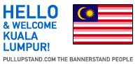 Kuala Lumpur Malaysia Pullupstand.com - The Bannerstand People