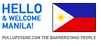 Manila Philippines Pullupstand.com - The Bannerstand People