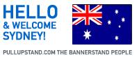 Sydney Australia Pullupstand.com - The Bannerstand People