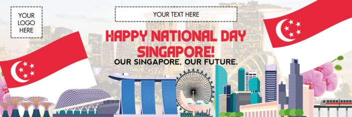 National Day Banner NDP12