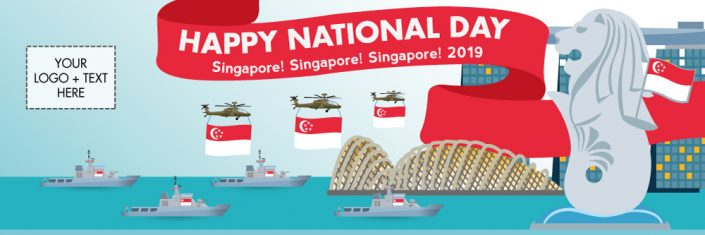 National Day Banner NDP14