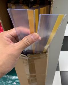 Shelf Strips Plastic Profile for Supermarket