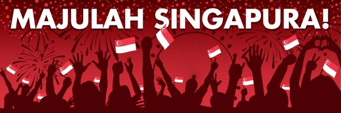 Singapore NDP Banner